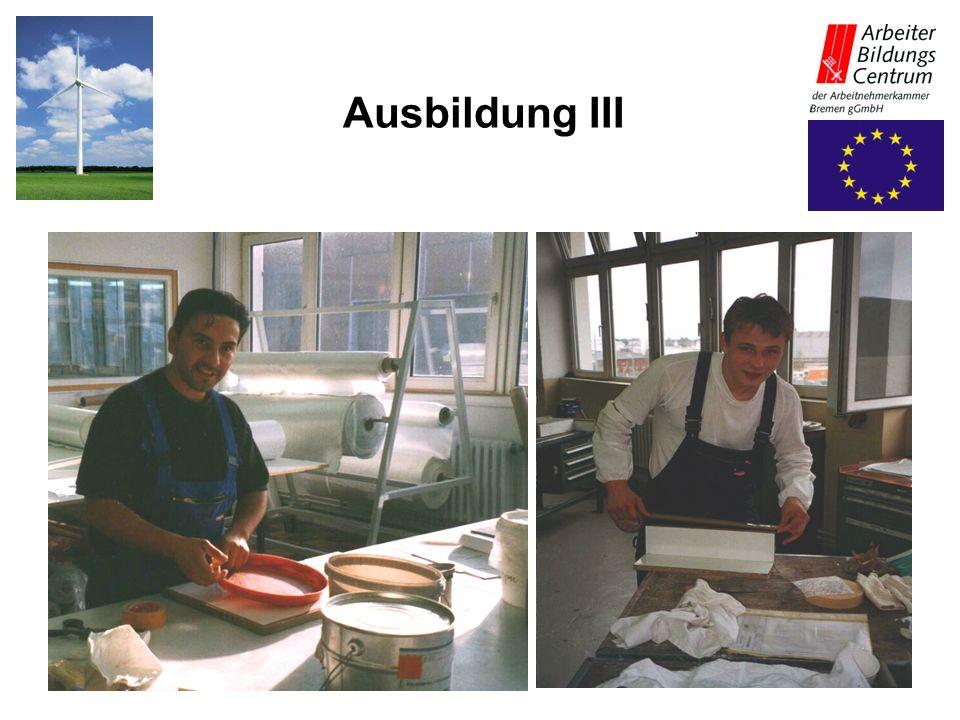 Ausbildung III 27.05.2003 Projekt Polymere