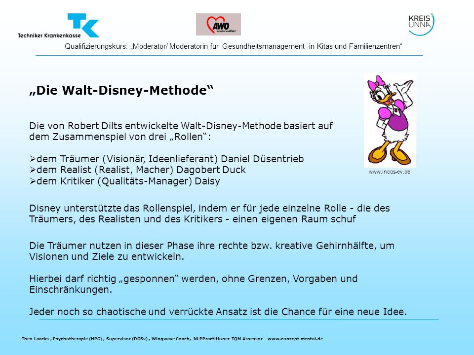 """Die Walt-Disney-Methode"