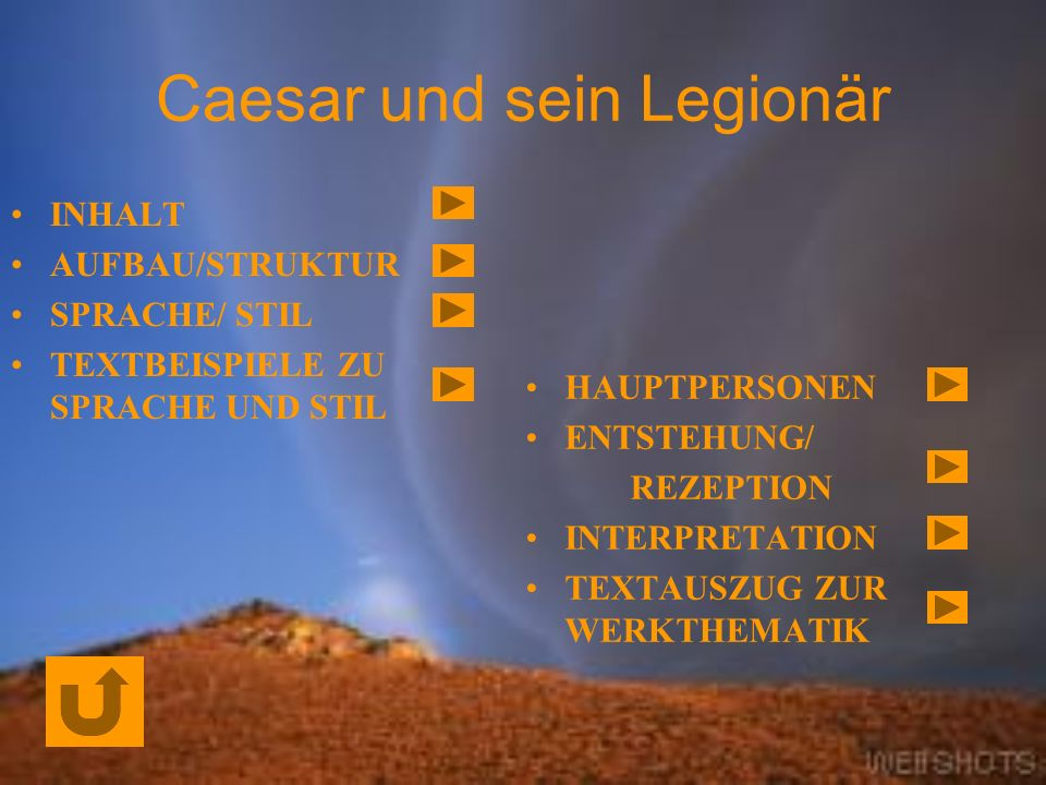 Caesar und sein Legionär