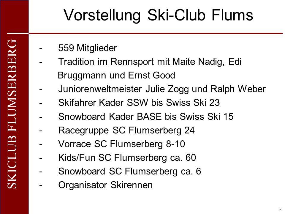 Vorstellung Ski-Club Flums
