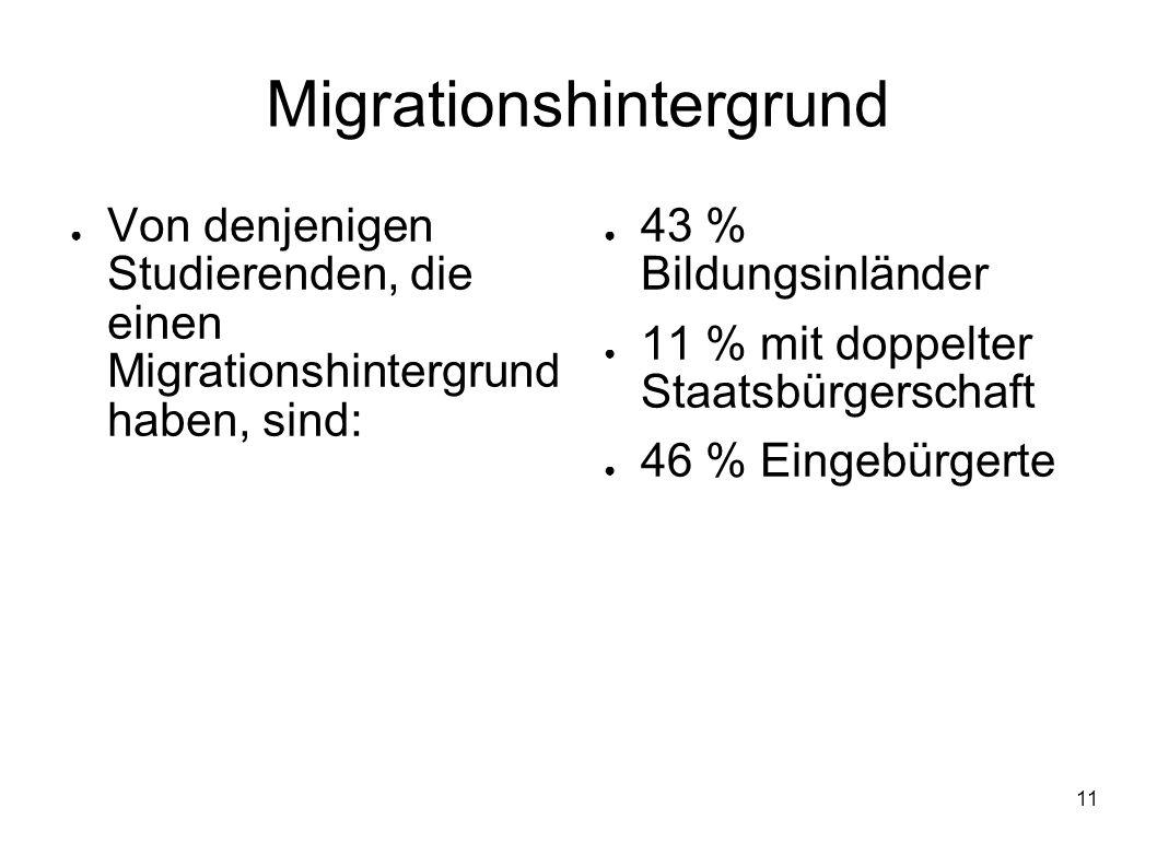 Migrationshintergrund