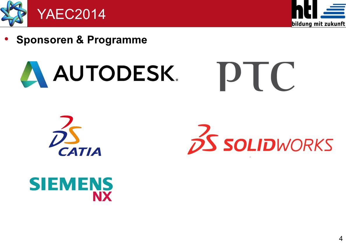 YAEC2014 Sponsoren & Programme 4