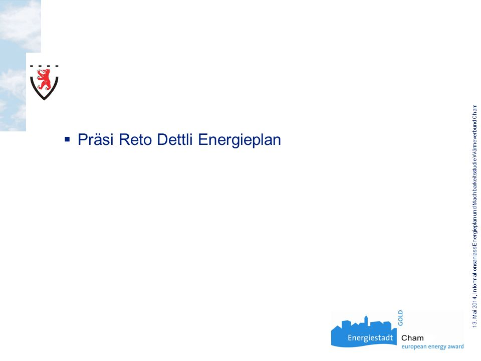 Präsi Reto Dettli Energieplan