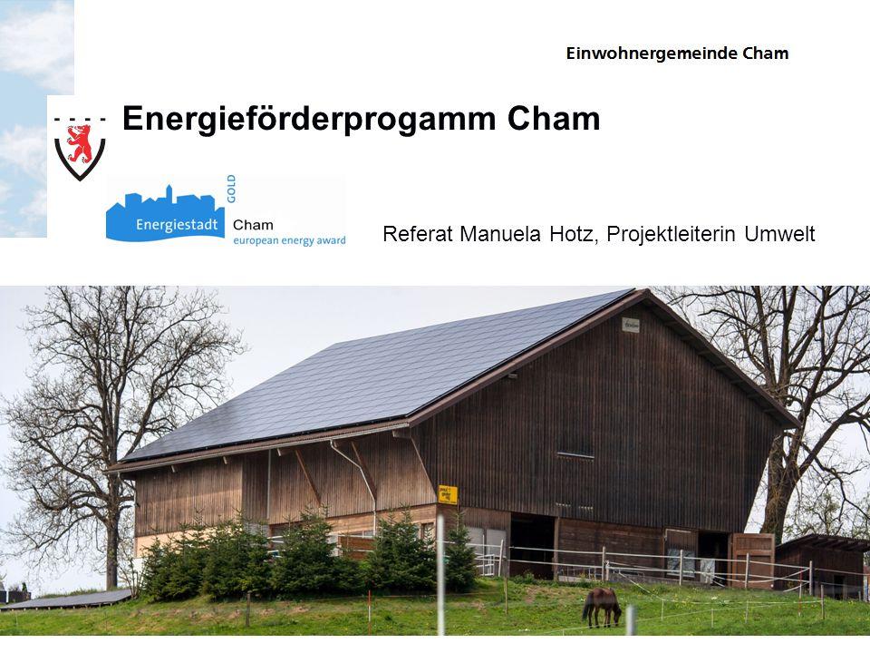Energieförderprogamm Cham
