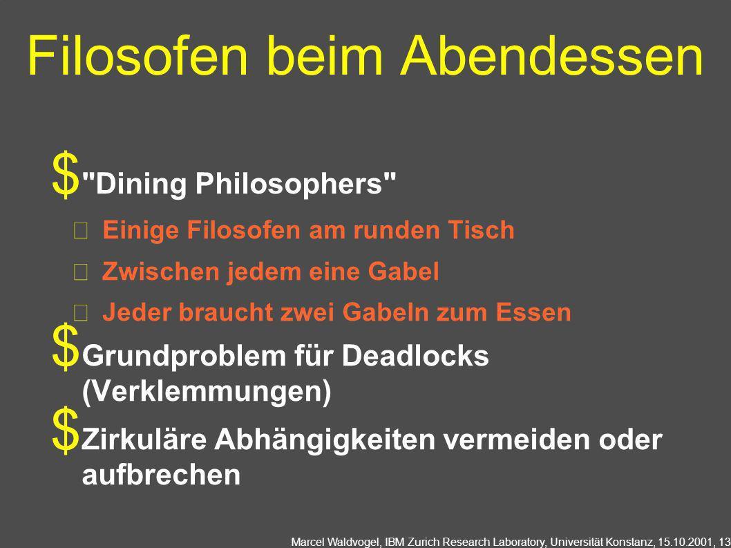 Filosofen beim Abendessen