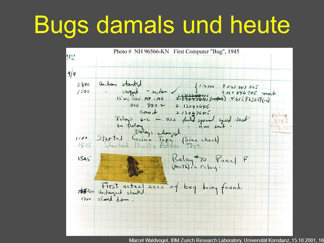 Bugs damals und heute http://www.history.navy.mil/photos/pers-us/uspers-h/g-hoppr.htm.