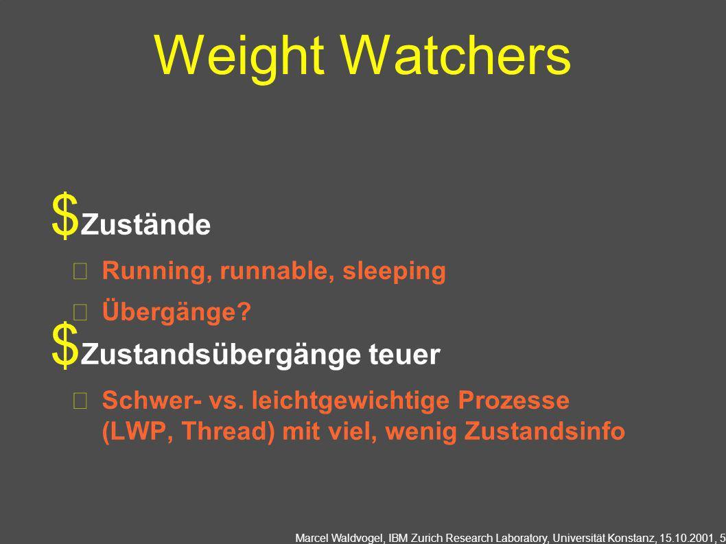 Weight Watchers Zustände Zustandsübergänge teuer