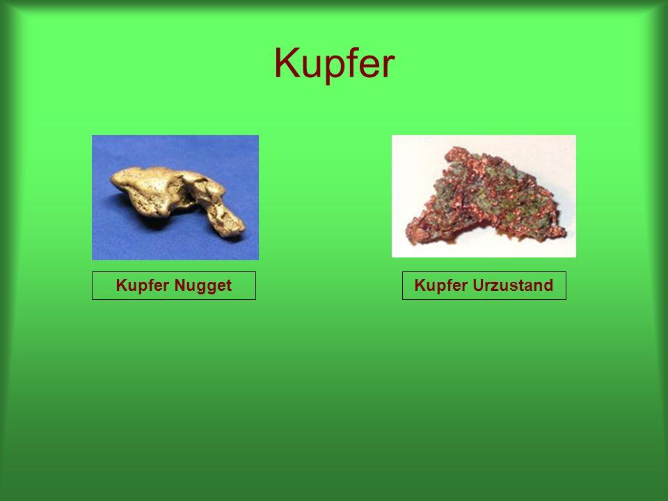 Kupfer Kupfer Nugget Kupfer Urzustand