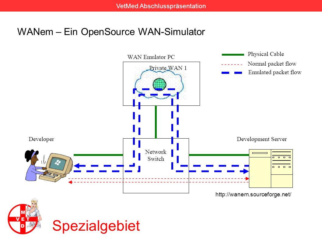Spezialgebiet WANem – Ein OpenSource WAN-Simulator