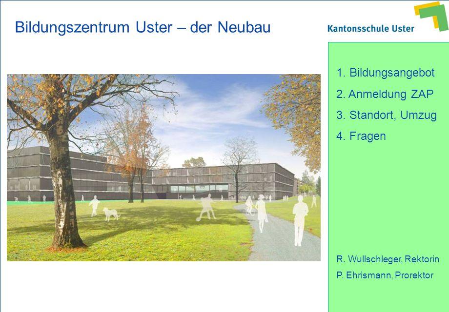 Bildungszentrum Uster – der Neubau