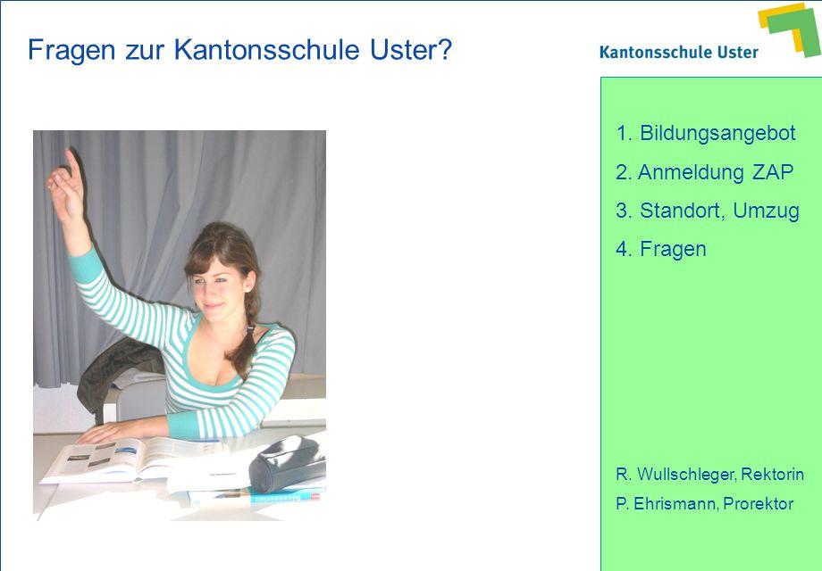Fragen zur Kantonsschule Uster