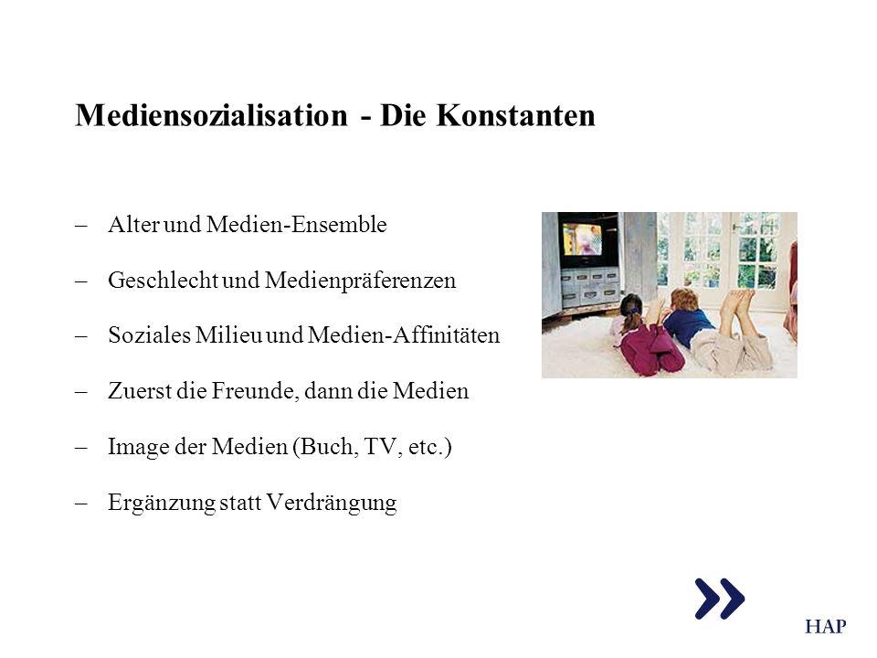 Mediensozialisation - Die Konstanten