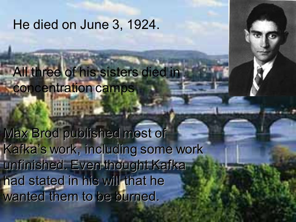 He died on June 3, 1924. All three of his sisters died in concentration camps.