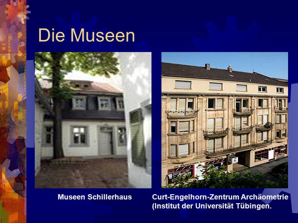 Die Museen Museen Schillerhaus