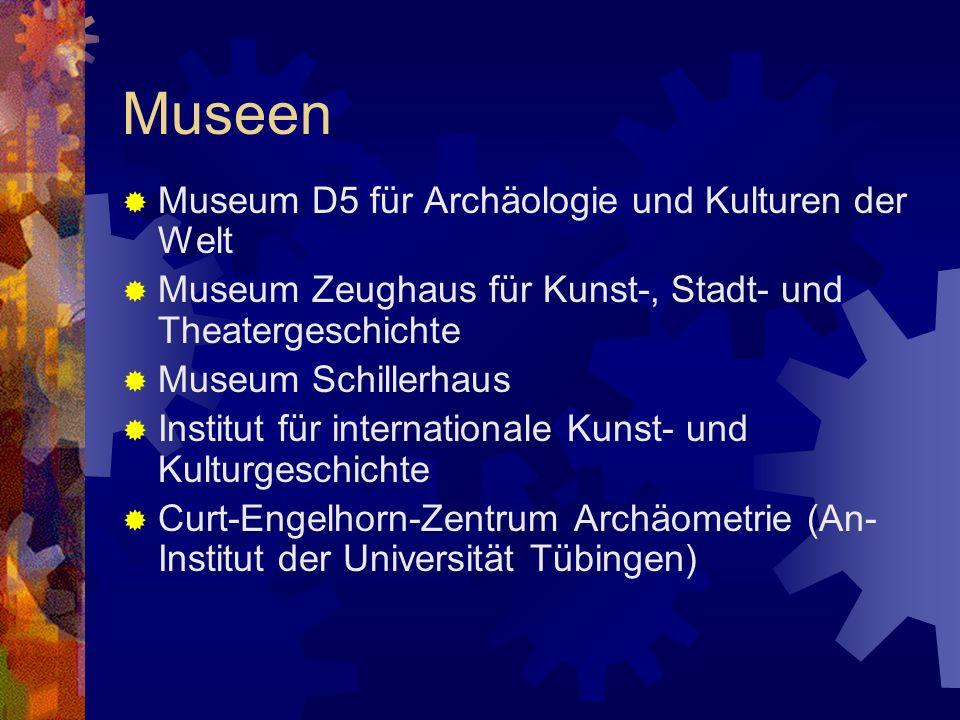 Museen Museum D5 für Archäologie und Kulturen der Welt