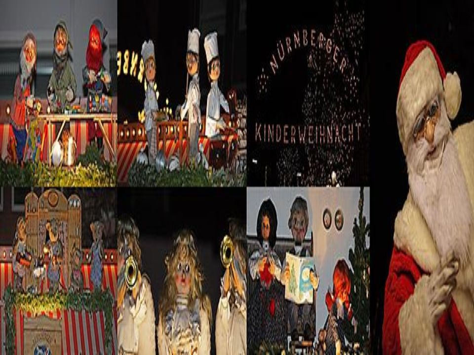 The Nürnberger Christkindlesmarkt has a section designed especially for the children, it is called Nürnberger Kinderweihnacht (Nurenberg Childrens Christmas).