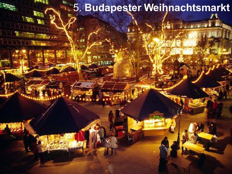 5. Budapester Weihnachtsmarkt