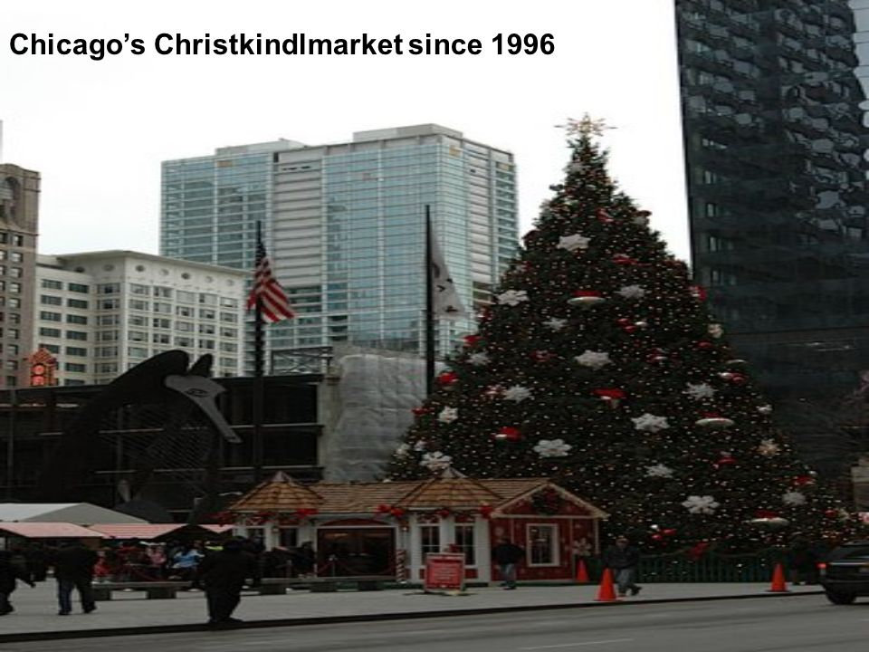 Chicago's Christkindlmarket since 1996