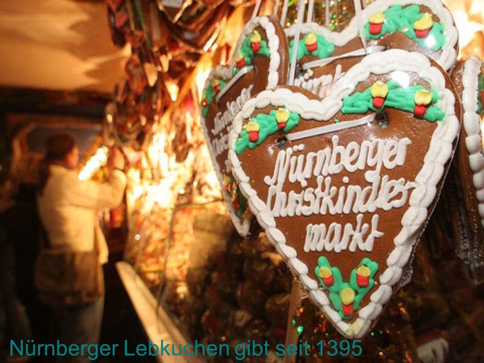 Nürnberger Lebkuchen gibt seit 1395