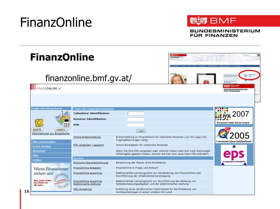 FinanzOnline FinanzOnline finanzonline.bmf.gv.at/