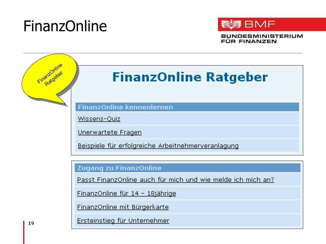 FinanzOnline Ratgeber
