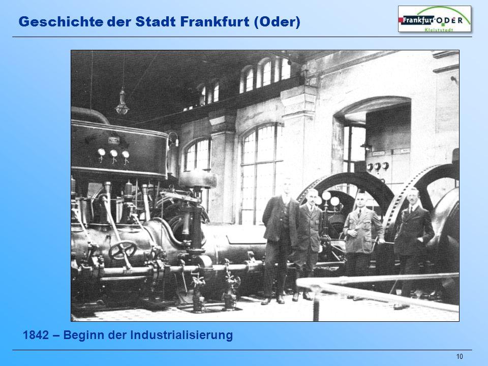 Geschichte der Stadt Frankfurt (Oder)