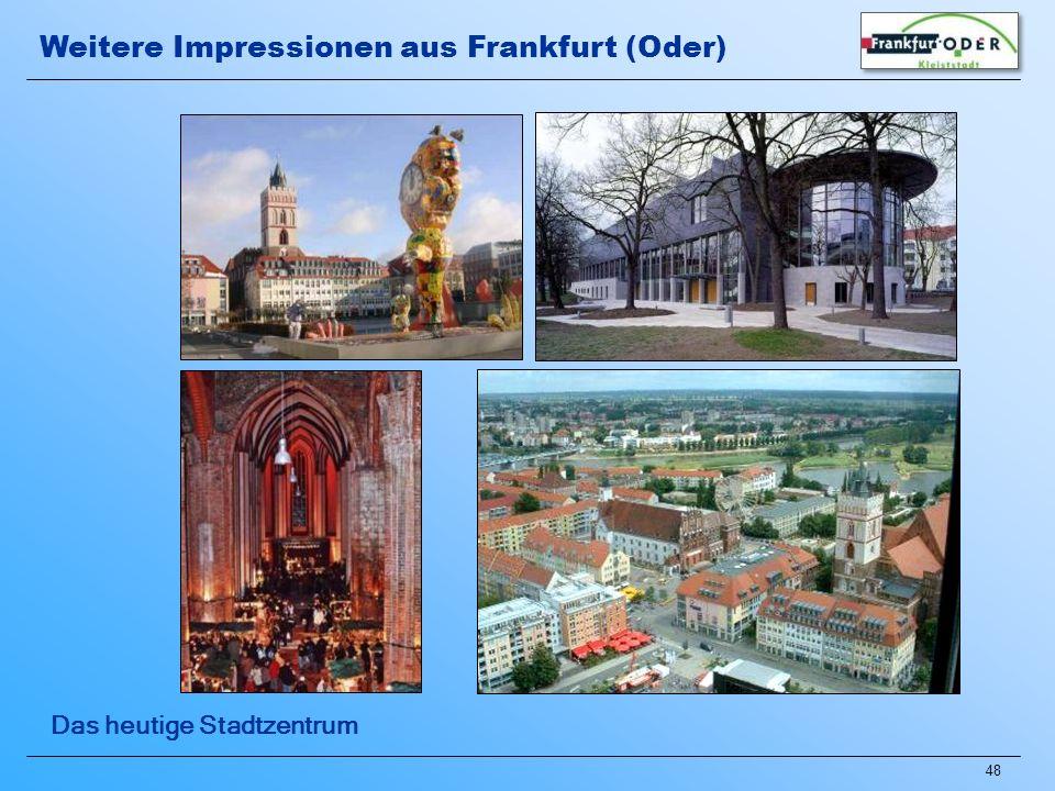 Weitere Impressionen aus Frankfurt (Oder)