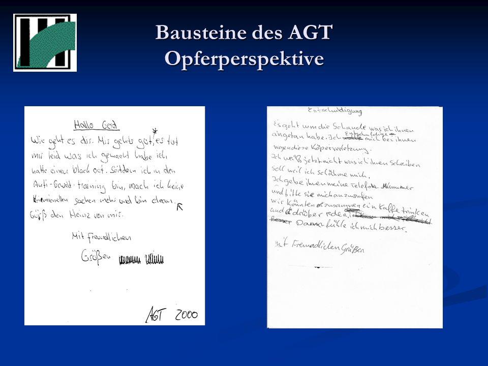 Bausteine des AGT Opferperspektive