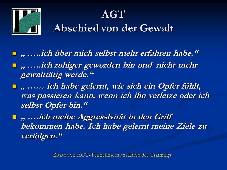AGT Abschied von der Gewalt