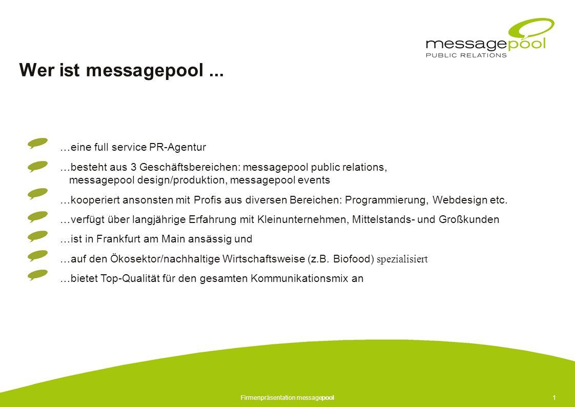 Firmenpräsentation messagepool