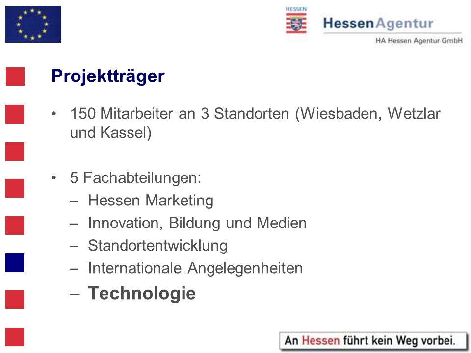 Projektträger Technologie