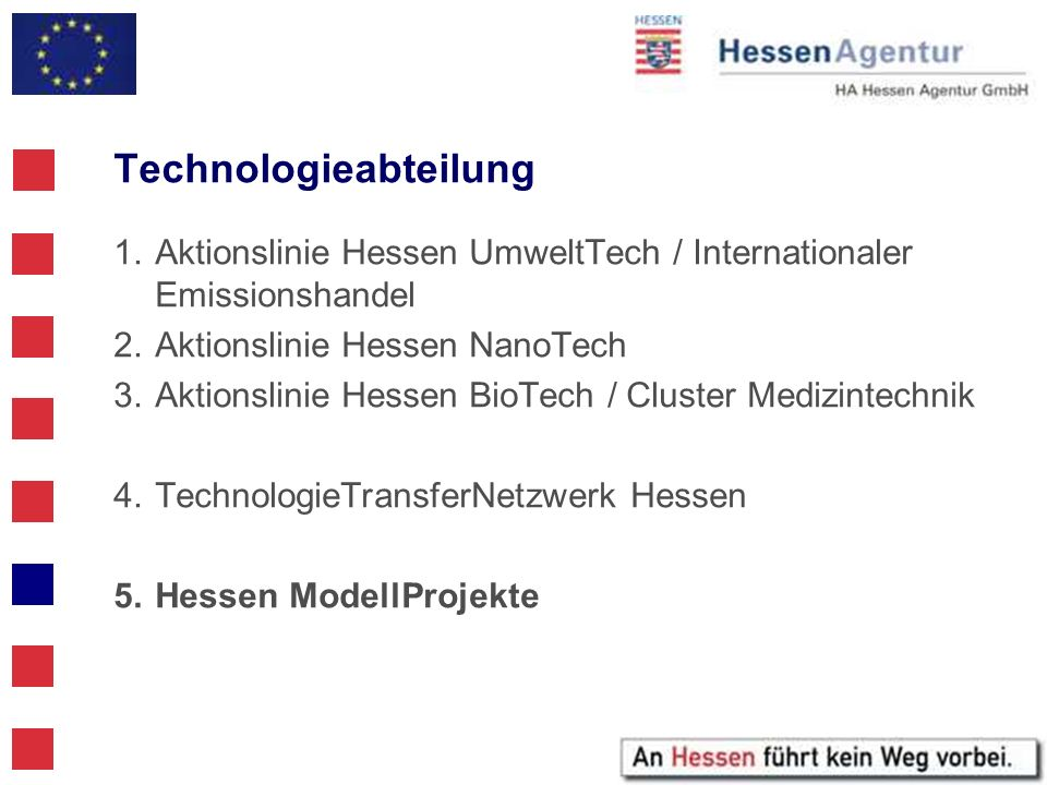 Technologieabteilung