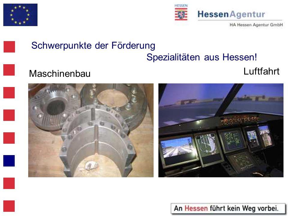 Schwerpunkte der Förderung Spezialitäten aus Hessen!