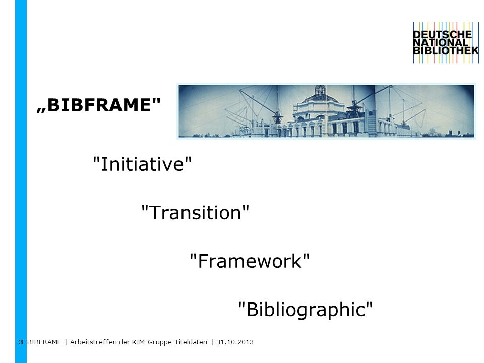 Initiative Transition Framework Bibliographic