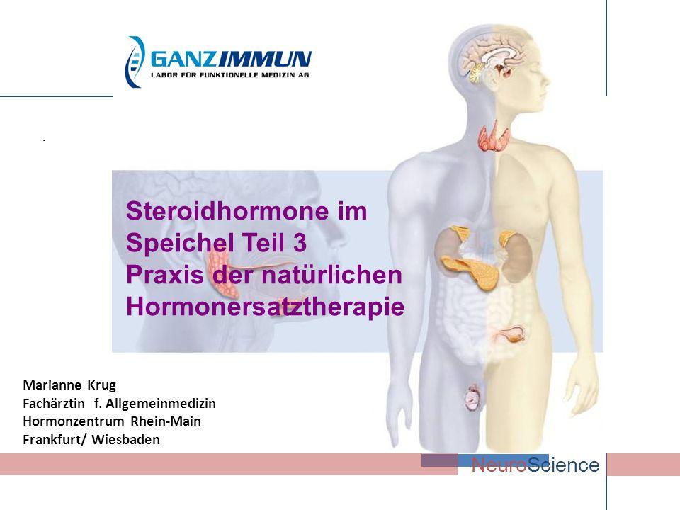 Steroidhormone im Speichel Teil 3