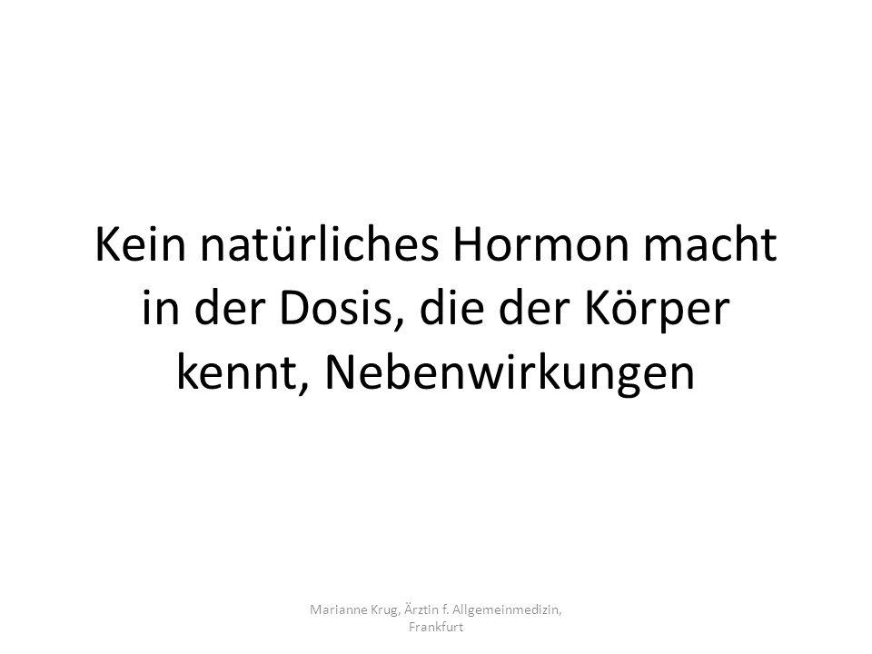 Marianne Krug, Ärztin f. Allgemeinmedizin, Frankfurt