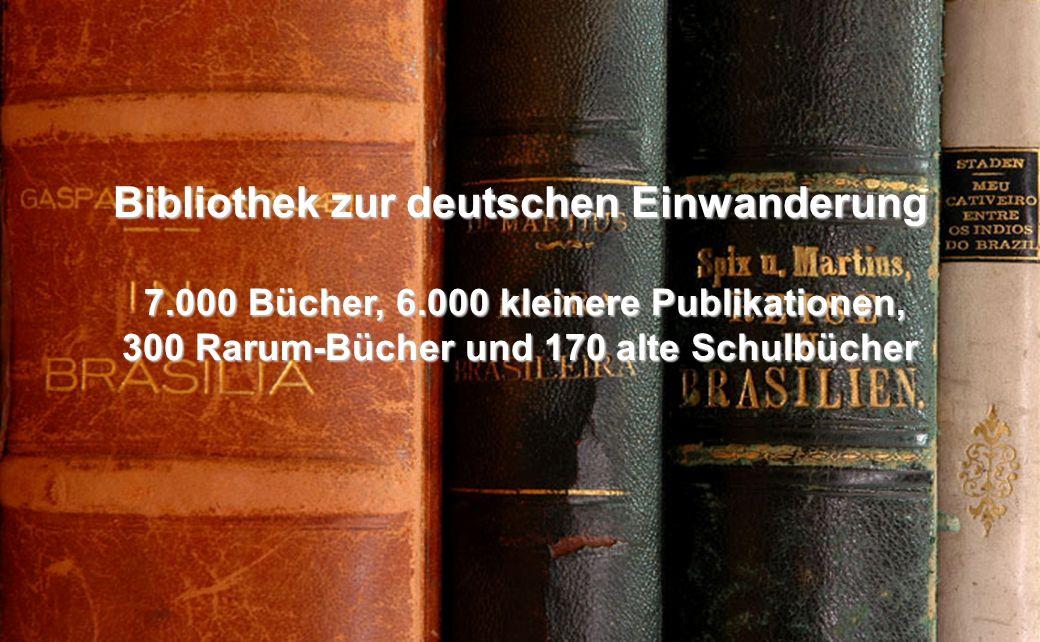 Bibliothek zur deutschen Einwanderung