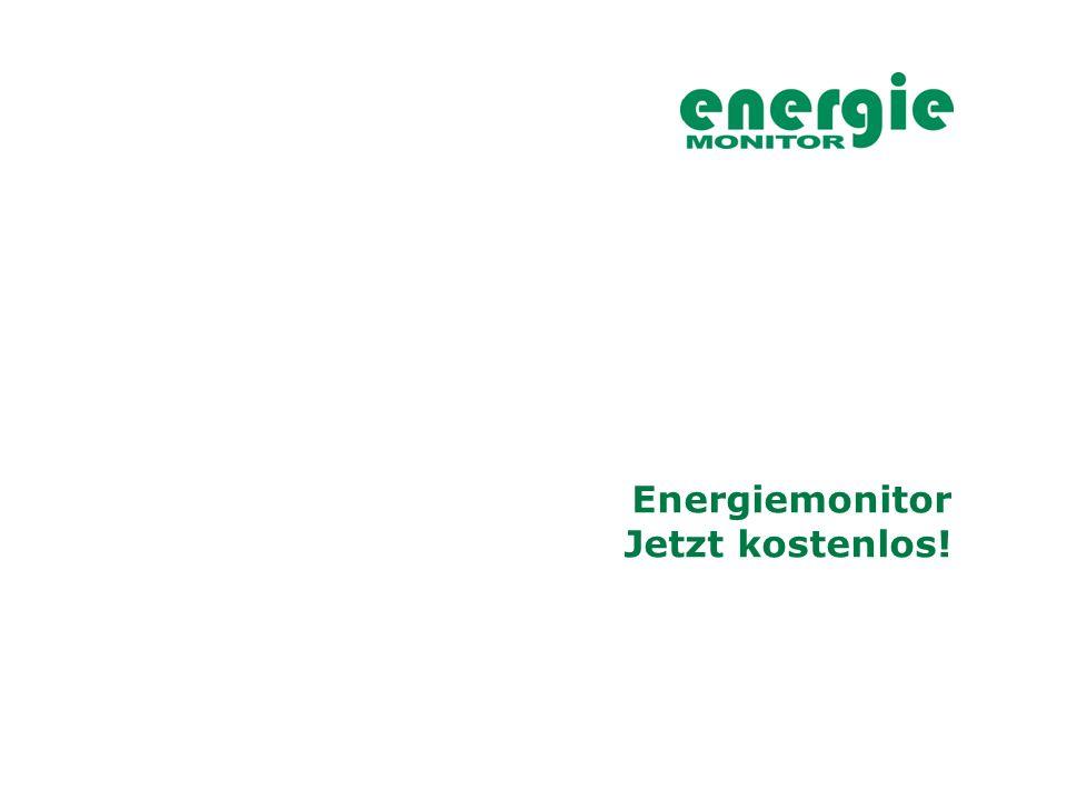 Energiemonitor Jetzt kostenlos!