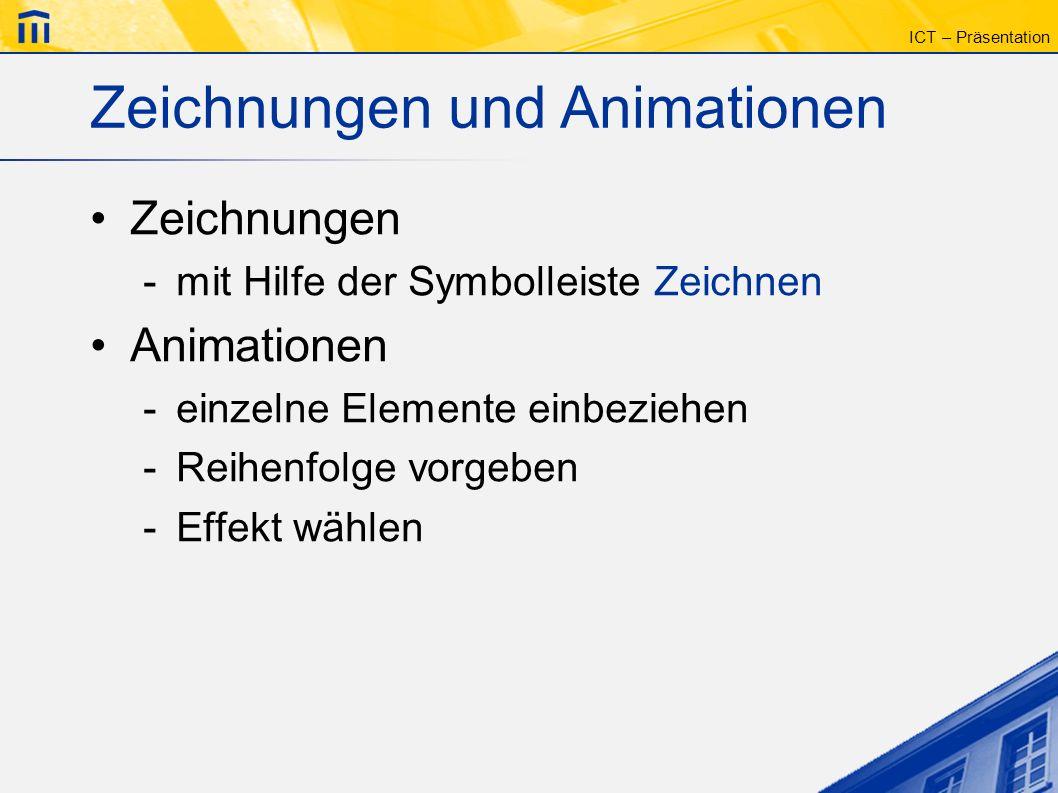 Zeichnungen und Animationen