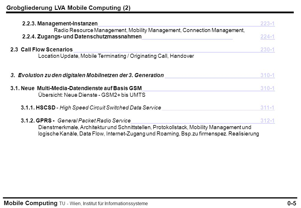 Grobgliederung LVA Mobile Computing (2)