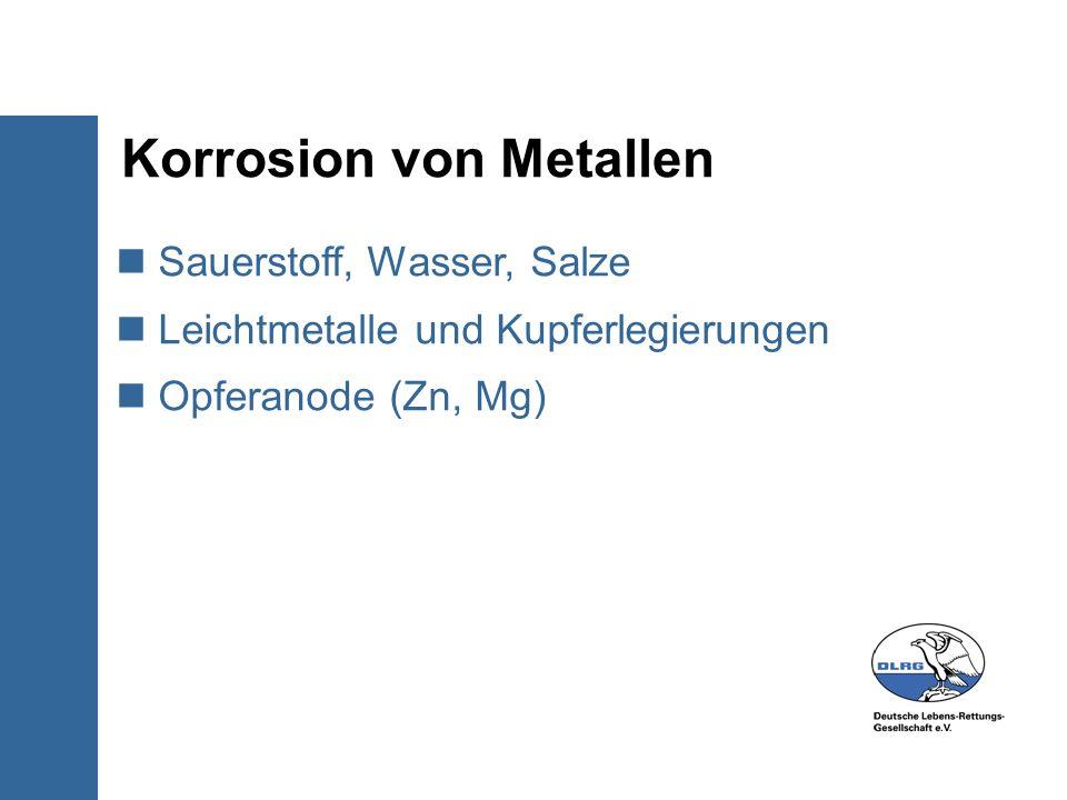 Korrosion von Metallen