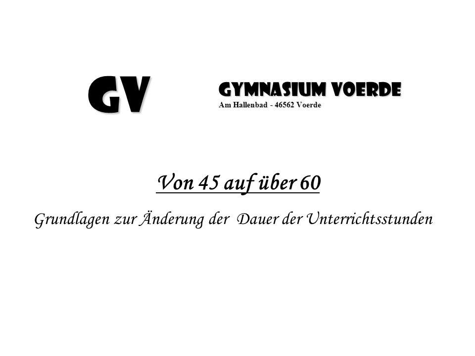Gymnasium Voerde Am Hallenbad - 46562 Voerde
