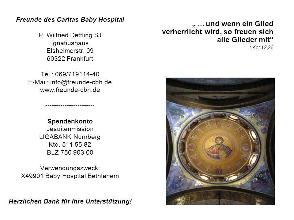 Freunde des Caritas Baby Hospital P