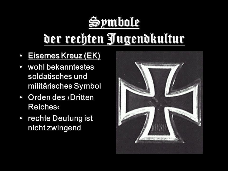 Symbole der rechten Jugendkultur