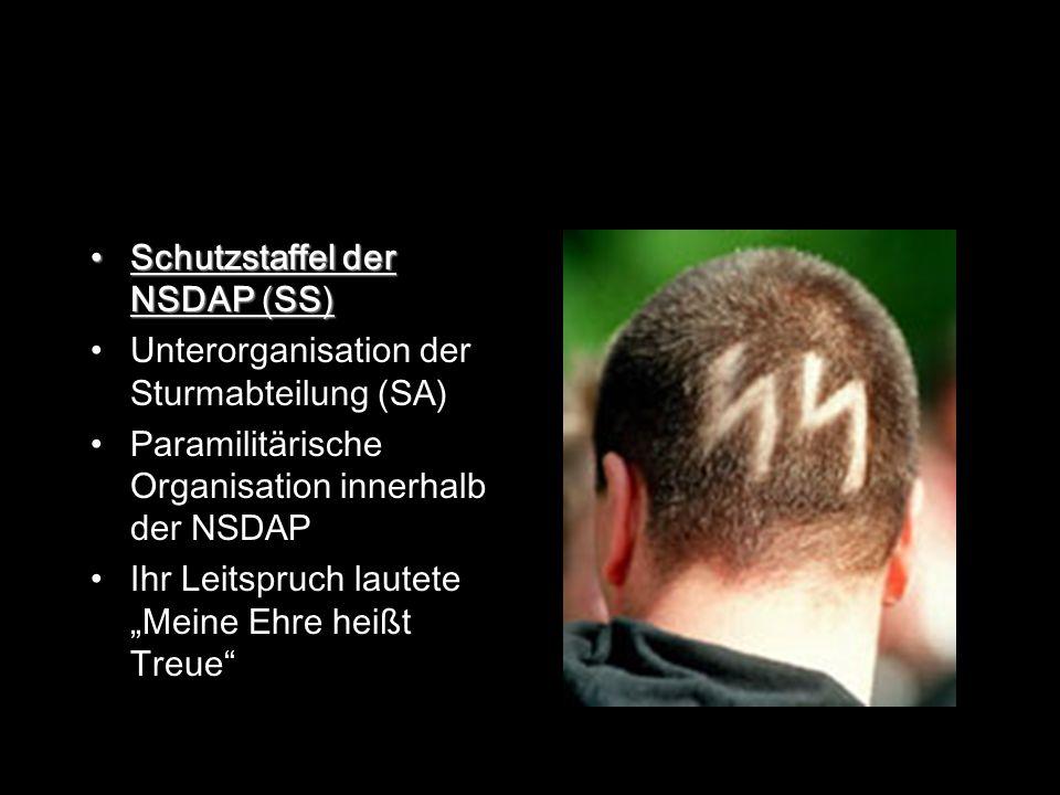 Schutzstaffel der NSDAP (SS)
