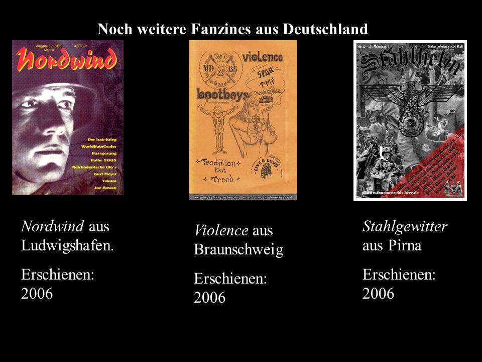 Noch weitere Fanzines aus Deutschland