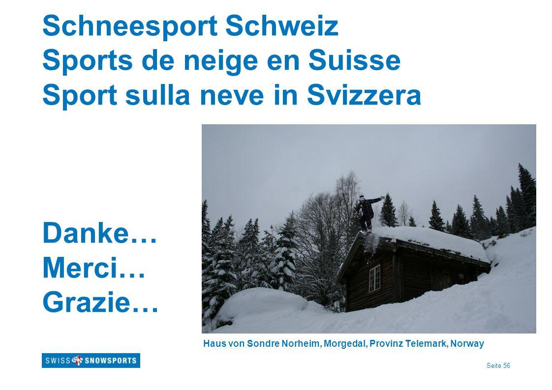 Schneesport Schweiz Sports de neige en Suisse Sport sulla neve in Svizzera Danke… Merci… Grazie… Haus von Sondre Norheim, Morgedal, Provinz Telemark, Norway