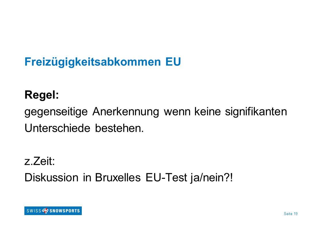 Freizügigkeitsabkommen EU