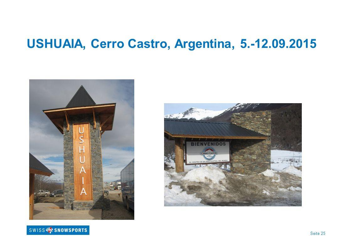 USHUAIA, Cerro Castro, Argentina, 5.-12.09.2015