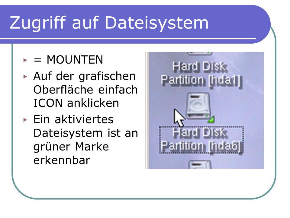 Zugriff auf Dateisystem